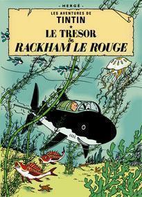 Poster Le tresor Rackham Rouge