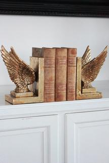 Bokstöd i form av en vinge x 2